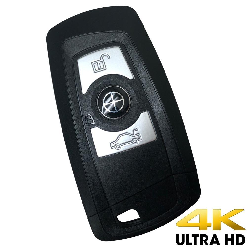 CHICHIAU 奇巧 高清正4K UHD 汽車遙控器造型微型針孔攝影機