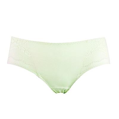 蕾黛絲-經典布魯斯搭配平口內褲 M-EL 蘋果綠