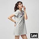 Lee 短袖RIDER連帽洋裝/RG-0-灰