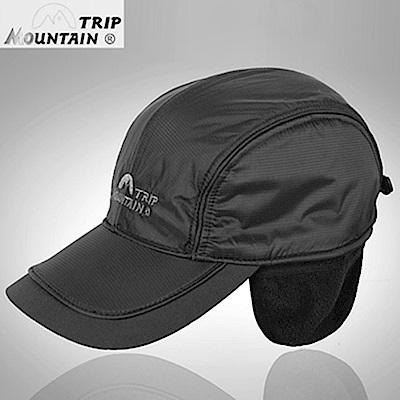 山之行MOUNTAIN TRIP雙疊搖粒絨護耳帽防寒保暖帽MC-245(內裡防水;可護後脖子)抓絨帽