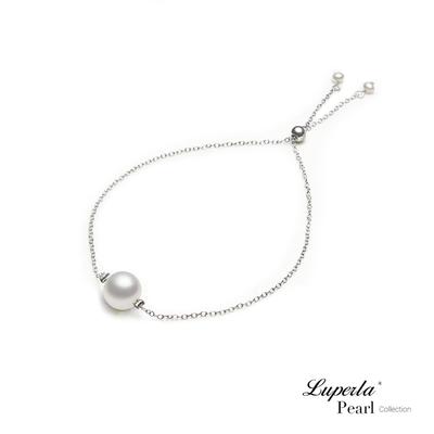 大東山珠寶 掌上明珠系列 心肝寶貝 925銀 日本珍珠手鍊 活扣式