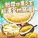 (任選) 極鮮配  熱帶水果之王-鮮凍金枕頭榴槤 (350g/包,2-4入) product thumbnail 1