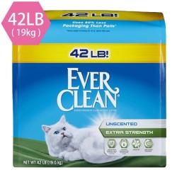 藍鑽EVER CLEAN 強效無味低敏結塊貓砂(藍標)42LB