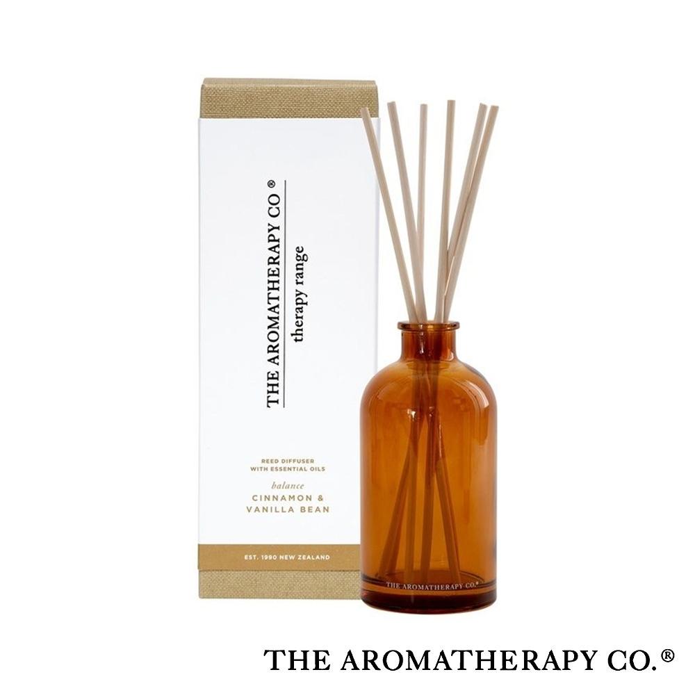 The Aromatherapy Co. 紐西蘭天然香氛 Therapy系列 香草肉桂 Cinnamon Vanilla Bean 250ml 居家擴香