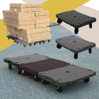 創意拼接置物平板滑輪車 1入