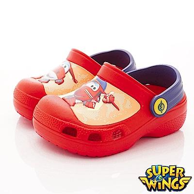 SUPER WINGS 捷特護趾涼鞋款 NI3902紅(中小童段)