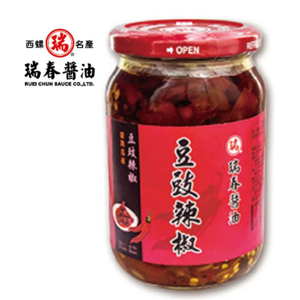 瑞春‧豆豉辣椒(十二瓶入)