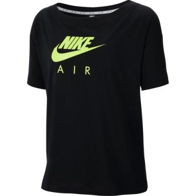 NIKE 短袖上衣 休閒 運動 女款 黑 CU5559011 AS W NSW AIR TOP SS BF