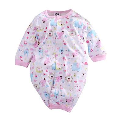 印花薄款長袖連身衣 k50631 魔法Baby