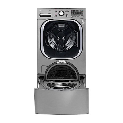 LG樂金 19KG+2.5KG TWINWash 變頻滾筒洗脫烘洗衣機 WD-S19TVC