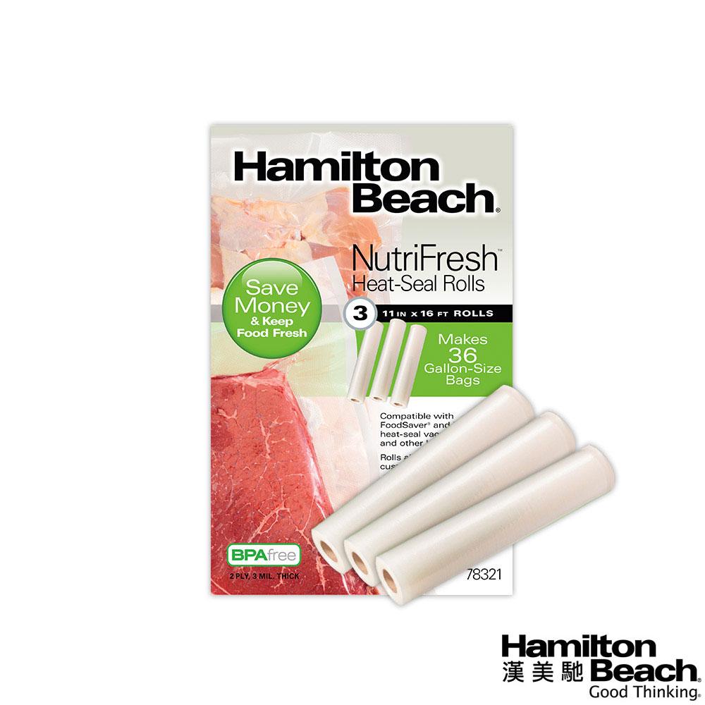 美國漢美馳 Hamilton Beach 真空保鮮袋 (3卷入) @ Y!購物