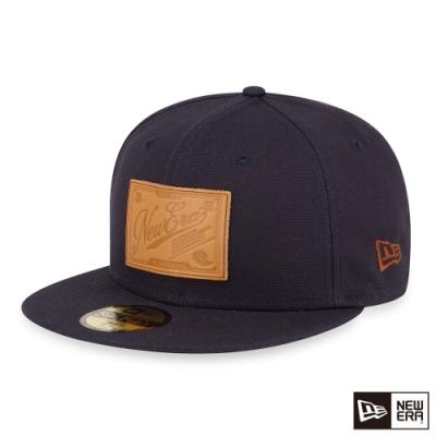 NEW ERA 59FIFTY 5950 粗帆布 海軍藍 棒球帽