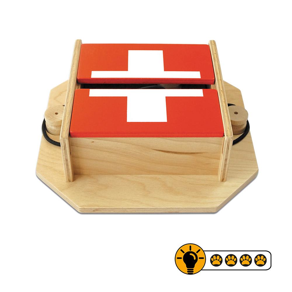靈靈狗 瑞士藏寶箱 寵物桌遊 益智玩具 互動遊戲