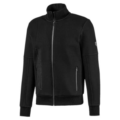 PUMA-男性法拉利經典系列立領外套-黑色-歐規