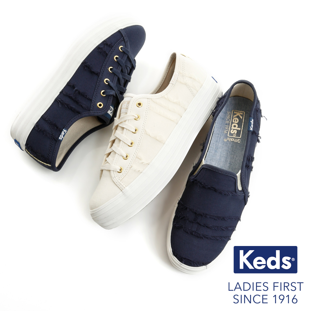 [時時樂限定]Keds TRIPLE KICK 休閒鞋-三款