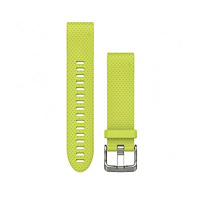 GARMIN QUICKFIT 20mm 螢亮黃矽膠錶帶