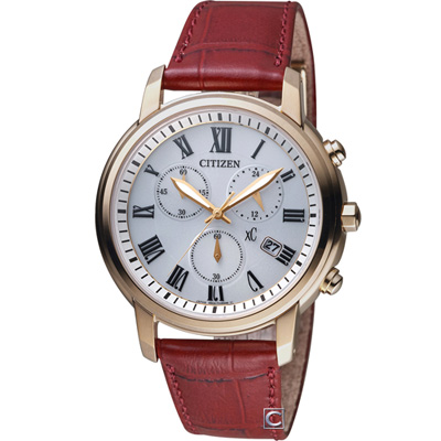CITIZEN xC 系列花漾年華計時腕錶( FB1433-10A)