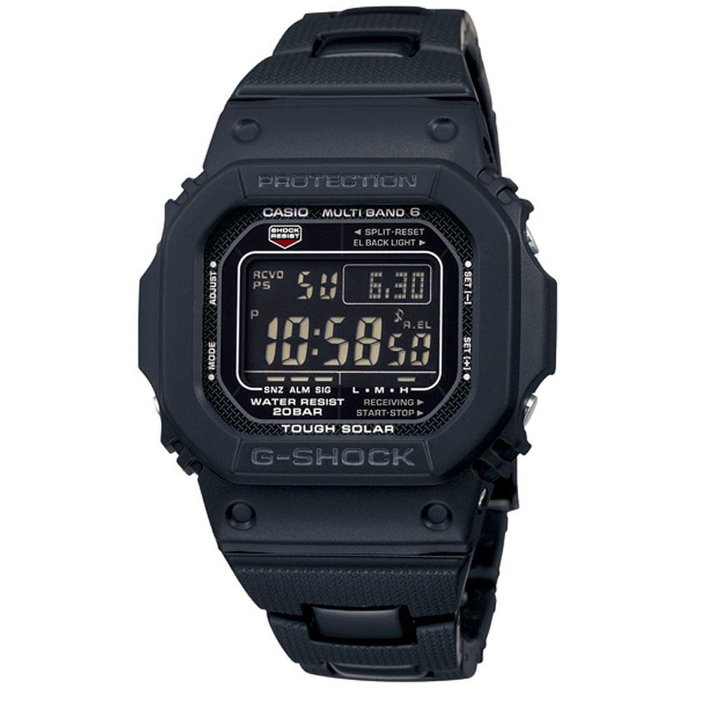 G-SHOCK經典款原型5600進化版複合式電波錶(GW-M5610BC-1)43.2mm @ Y!購物