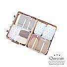 DF Queenin日韓 - 輕鬆旅遊束口防潑水收納包套裝組-共3色