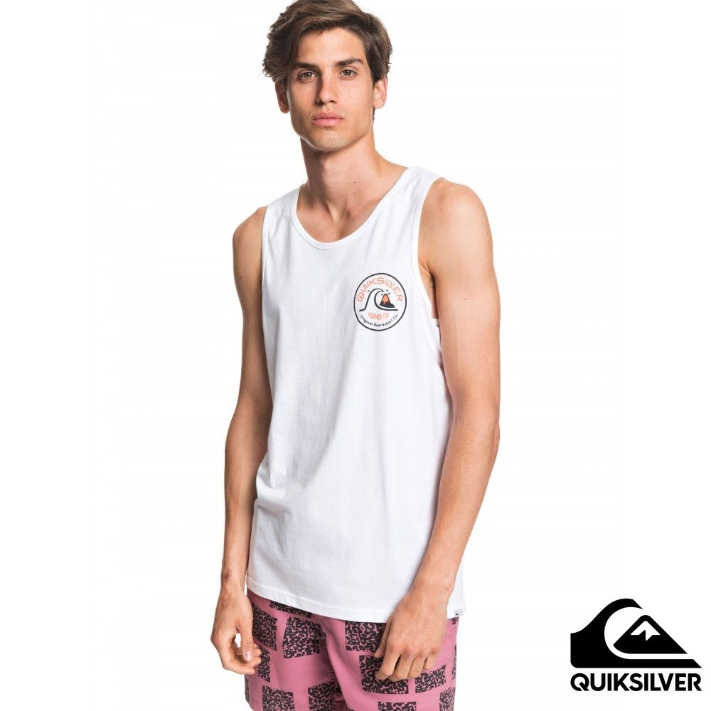 【QUIKSILVER】CLOSE CALL TANK 背心 白色
