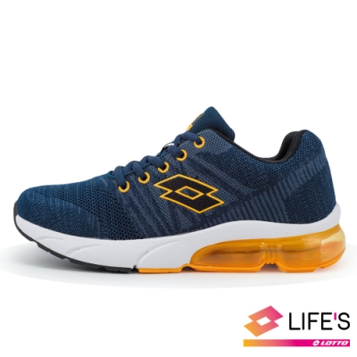 LOTTO 義大利 童 SUPERLITE 氣墊跑鞋 (丈青)