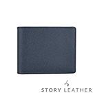 STORYLEATHER Style 91291 牛皮短夾 八掌紋寶藍
