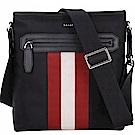 BALLY Currios 經典織帶厚磅帆布斜背包(黑色)
