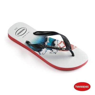 Havaianas哈瓦仕 拖鞋 海浪 夾腳拖 人字拖 巴西 男鞋 寶石紅 4144505-2090M Top Tribo