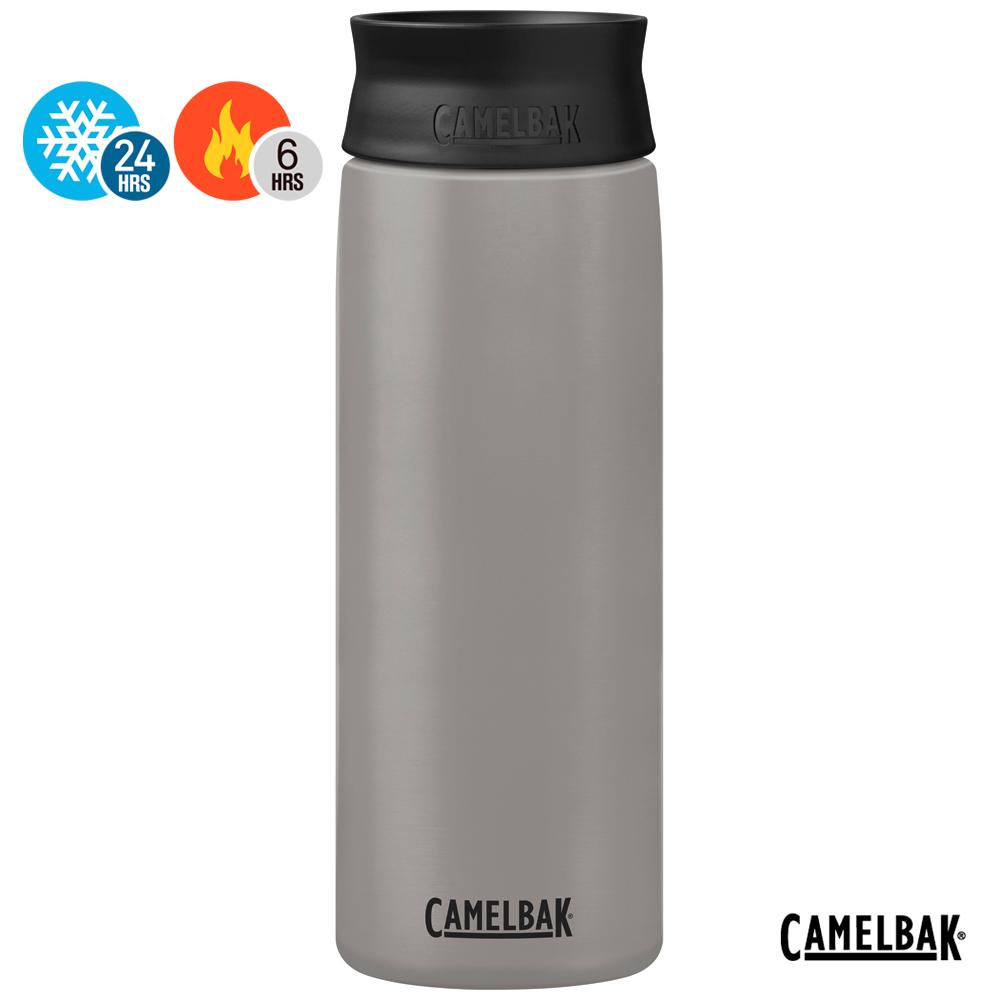【美國 CamelBak】600ml Hot Cap 360° 保冰/溫隨行杯 灰