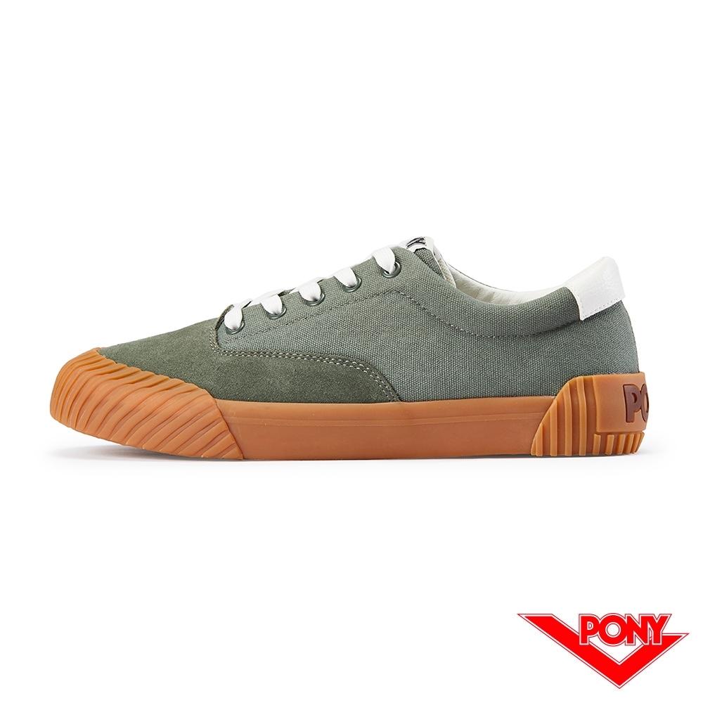【PONY】SUBWAY2系列滑板鞋-男款-墨綠色