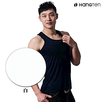 HANG TEN 涼感透氣背心_白(HT-B11001)