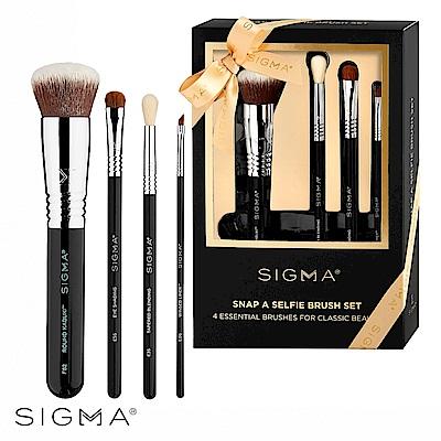 Sigma 完美自拍刷具四件組(季節限定禮盒)