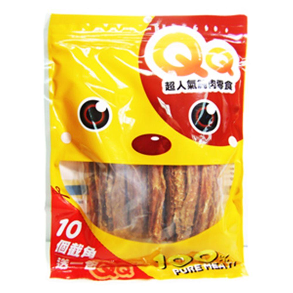 QQ 超人氣純肉零食 香焙雞胸細條 160G