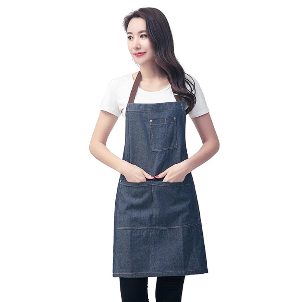 COMET 經典單寧牛仔圍裙(W07)
