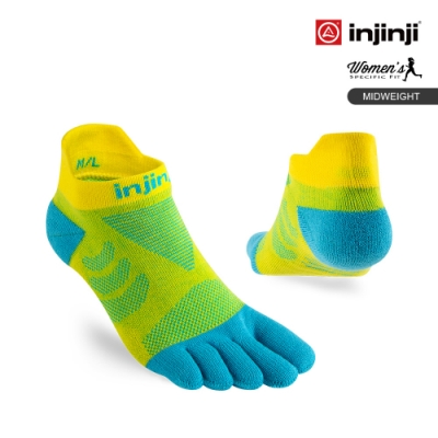 Ultra Run 終極系列女款五趾隱形襪[雛菊黃]