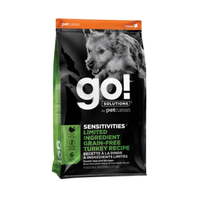 Go! 低致敏火雞肉 3.5磅 全犬 無穀配方