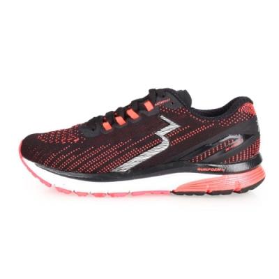 361度 361° 女慢跑鞋-訓練 路跑 黑螢光橘