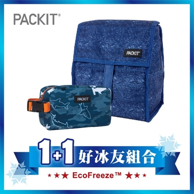 美國【PACKIT】冰酷 1+1好冰友新多功能E組合