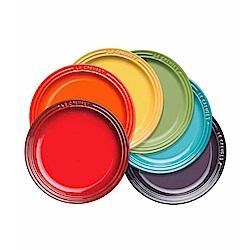 LE CREUSET 瓷器圓盤組 18cm 6入 (彩虹)
