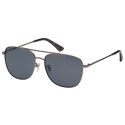 POLICE- 偏光片 太陽眼鏡 (槍色)PE867I