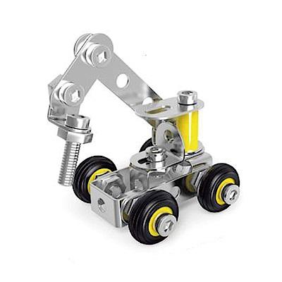 ZEYE-益智金屬積木-挖土機(組裝模型)