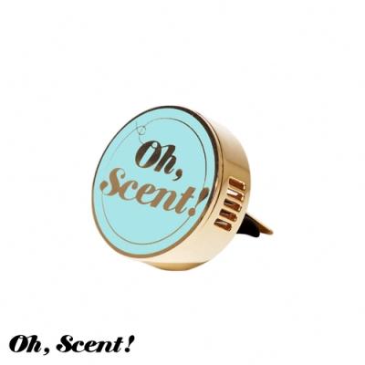 Oh, Scent! 精緻車上香氛經典款 Skymint-藍(嫩葉)