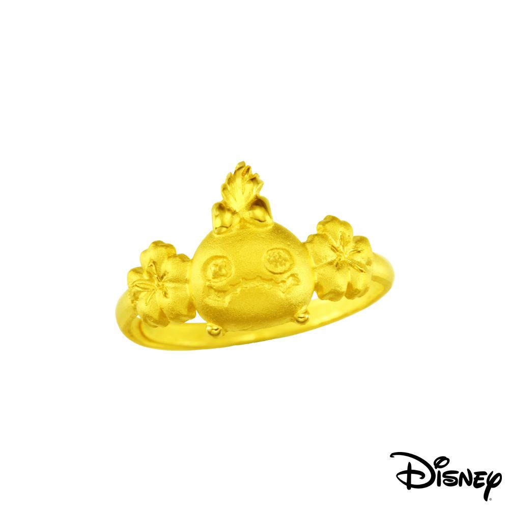 Disney迪士尼系列金飾 黃金戒指-醜ㄚ頭款