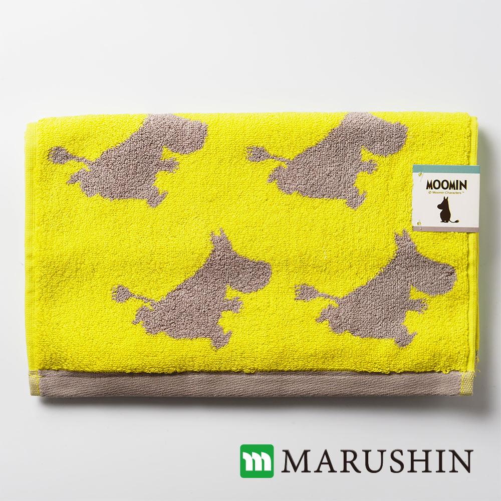 日本丸真 Moomin剪影高質感重磅毛巾-嚕嚕米