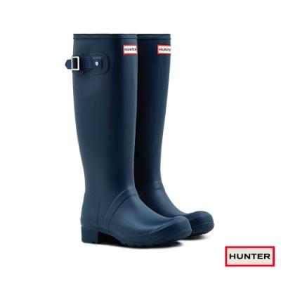 HUNTER - 女鞋 - TOUR長靴 - 藍