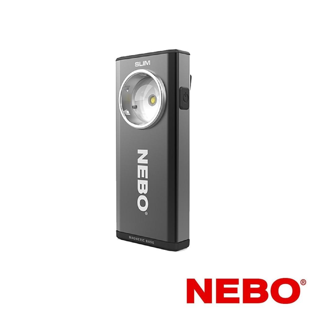 【NEBO】Slim超薄型充電可調光LED燈-黑