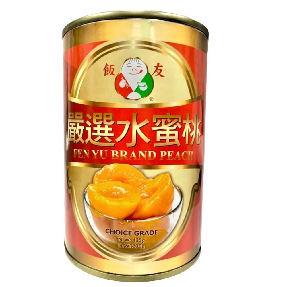 飯友 嚴選水蜜桃 425g