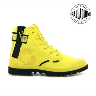 PALLADIUM EVO LITE+ RCYCL WP+再生纖維輕量防水靴-男-黃