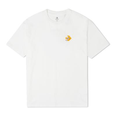 CONVERSE CAMPING GRAPHIC TEE 男 短袖上衣 白色 10022786-A01
