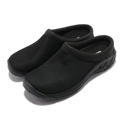 Merrell 休閒鞋 Encore Breeze 4 女鞋 懶人鞋 拖鞋 內嵌式避震墊片 穩定 耐磨 黑 ML000554